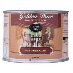 Масло с полиуретаном для покраски столешницы Golden Wave Naturel Olie Mat 500