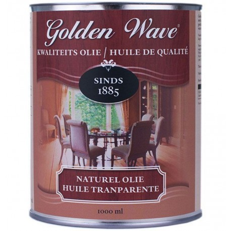 Масло с воском для паркета Golden Wave Hardwax Olie Mat