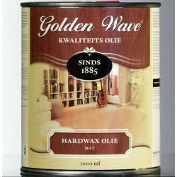Масло с воском для паркета Golden Wave Hardwax Olie Mat