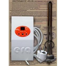 Тен для чугунного радиатора с терморегулятором-программатором эра+ 0,5 квт