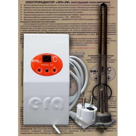 Тен из нержавейки 0,5 квт для чугунного радиатора с терморегулятором
