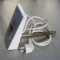 ТЭН в чугунную батарею с терморегулятором 0,25 квт