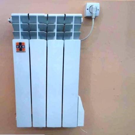 Алюминиевый Электрорадиатор ЭРА+ 4 секции 390 Ватт