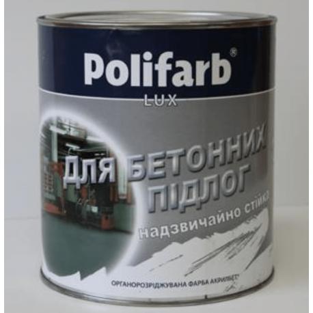 Краска для бетонного пола Акрилбет серая 14 кг.