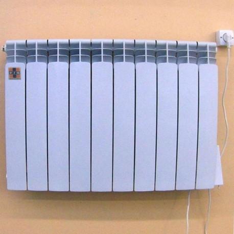 алюминиевый электрорадиатор экономичный на 10 секций