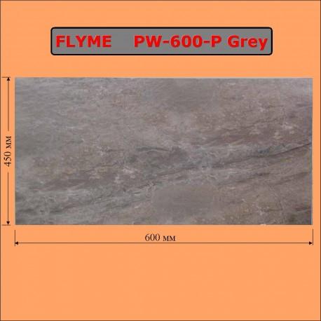 Електричний обігрівач-керамічна панель Флам 600 Ватт сіра