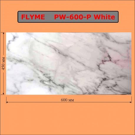 Электрический обогреватель-керамическая панель ФЛАЙМ 600 Ватт Белый мрамор
