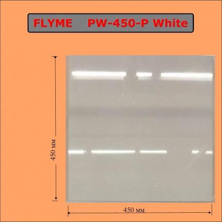 Белый электрический обогреватель-керамическая панель ФЛАЙМ 450 Ватт