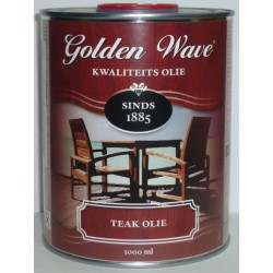 Тиковое масло для дерева Golden Wave Teak Olie.