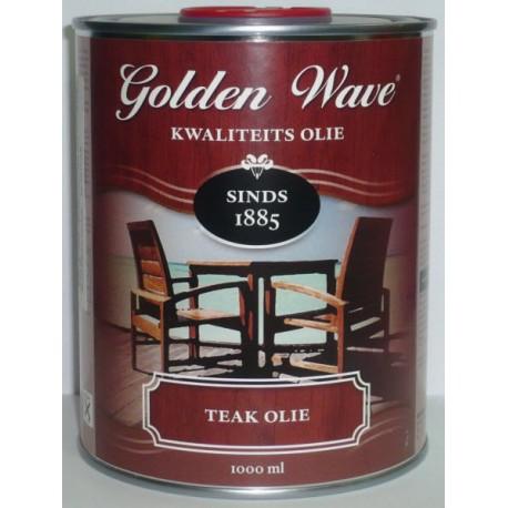 Тиковое масло Golden Wave