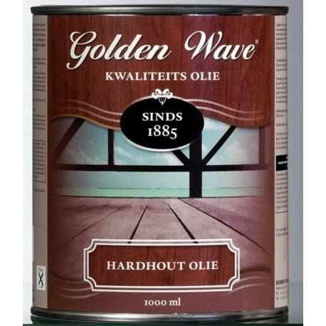 Масло для твердой древесины Golden Wave