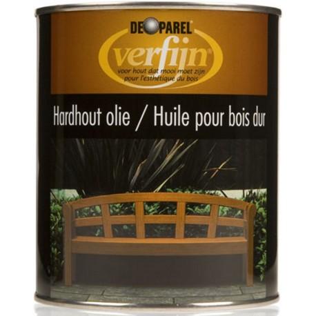 Масло для Твердого дерева Верфайн Хардхоут олие 750 мл.