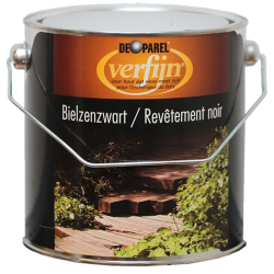 Черная шпала Verfijn Bielzenzwart 2,5 л.