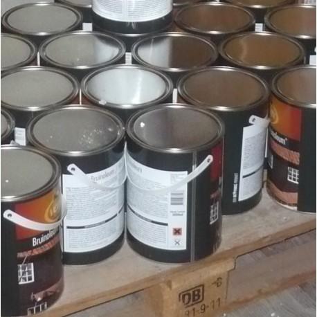 Битумное масло для наружных работ Verfijn Bruinoleum 18х5 L.