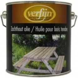 Масло для мягкого дерева Verfijn Zachthout olie  2,5 л.