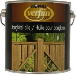 Масло для забора из ,дерева Verfijn Bahgkirai Olie 2,5 Л.