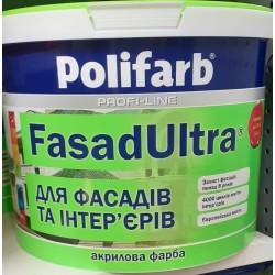 Фарба фасадна Polyfarb Фасад Ультра 1,4 кг