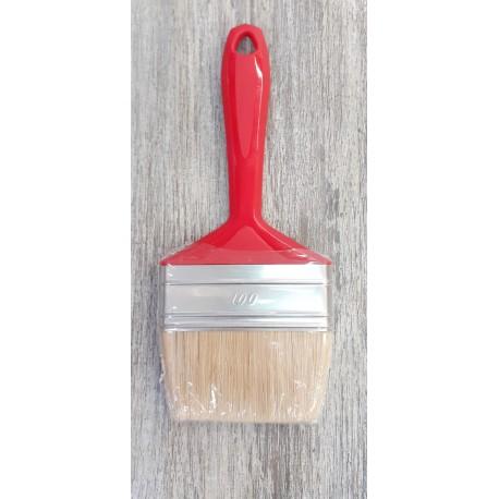 Кисть плоская для нанесения масловоска, краски или лака