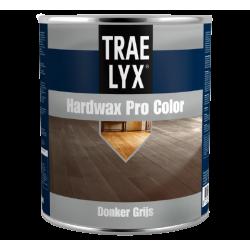 Цветное масло для покраски дерева с твёрдым воском Trae Lyx HardWax Pro Color Donker Grijs