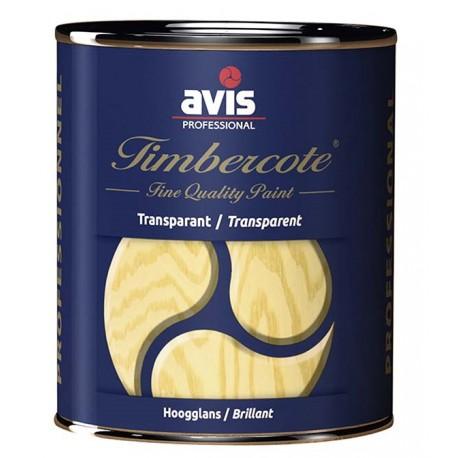 Лак для окон из дерева прозрачный Avis Timbercote Blank