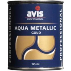Фарба-лак металік Avis Aqua Metalics Goud