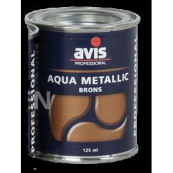 Фарба-лак металік Avis Aqua Metalics Brons