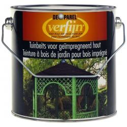 Зеленая пропитка для дерева Verfijn Tuinbeits Geimpregnird Groen 2,5 Л.