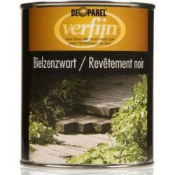 Масло для пропитки дерева в земле VerfijnBielzenzwart 750 мл.