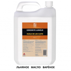 Лляна варена Гекокте олія для дерева BLEKO 5L