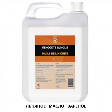 Льняное варёное Гекокте масло для дерева BLEKO 5L