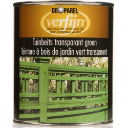 Морилка зеленая Verfijn tuinbeits Groen750 мл.