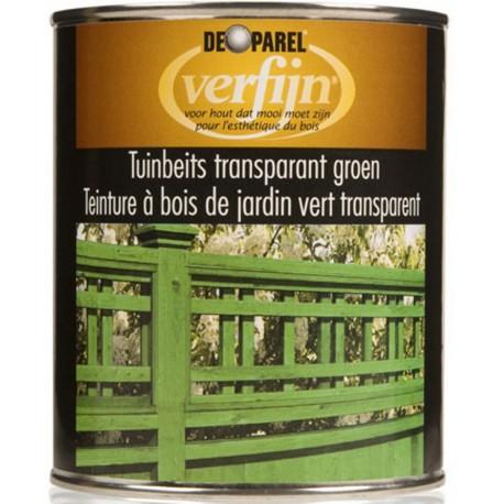 Морилка зеленая для пропитки дерева Verfijn Tuinbeits Groen 750 мл.