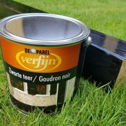 Краска для цоколя дома Verfijn Zwarte Teer 2,5 л.