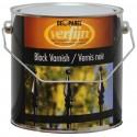 Черная битумная краска по металлу Verfijn Black Varnish 2,5 л.