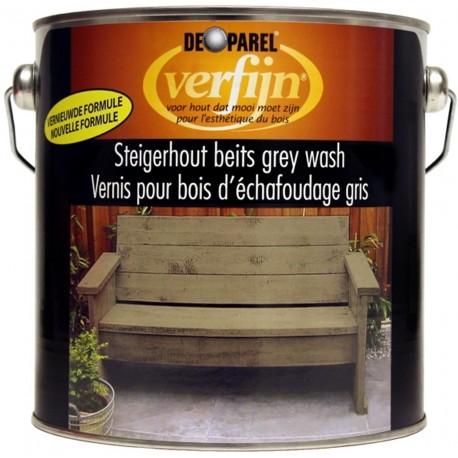 Наружная морилка на масляной и восковой основе Верфайн (Verfijn Staigerhout beits) серая 2,5 л.
