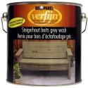Морилка наружная на масляной основе для дерева Verfijn Staigerhout beits  серая 2,5 л.