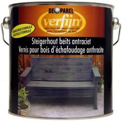 Восковая морилка наружная Verfijn Staigerhout beits  темно серая 2,5 л.