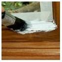 Грунтовка деревянных окон и дверей