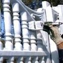Фарба для бетонного паркану