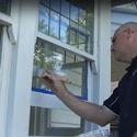 Покрасить окна и двери снаружи