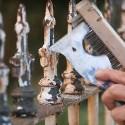 Перефарбувати металевий паркан