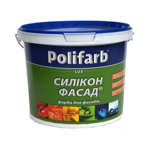 Сіліконова фасадна фарба Поліфарб