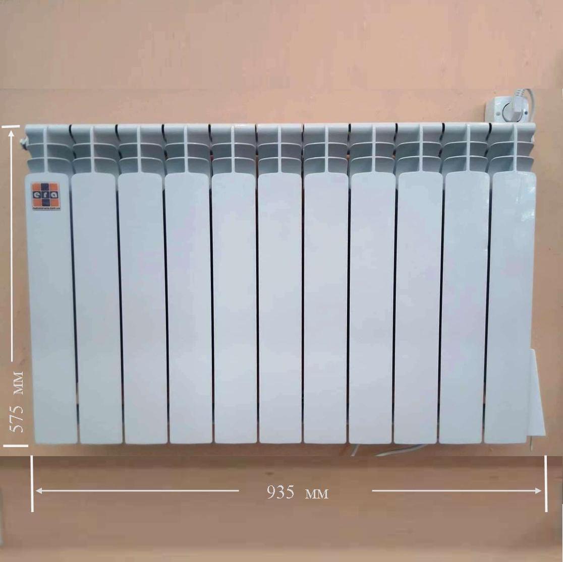 Электрорадиатор для комнаты 19 метров квадратных с термоконтроллером ЭРА в Киеве