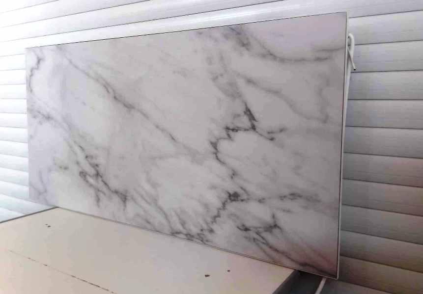 Купить в Киеве керамическую панель Флайм на 600 ватт белого цвета