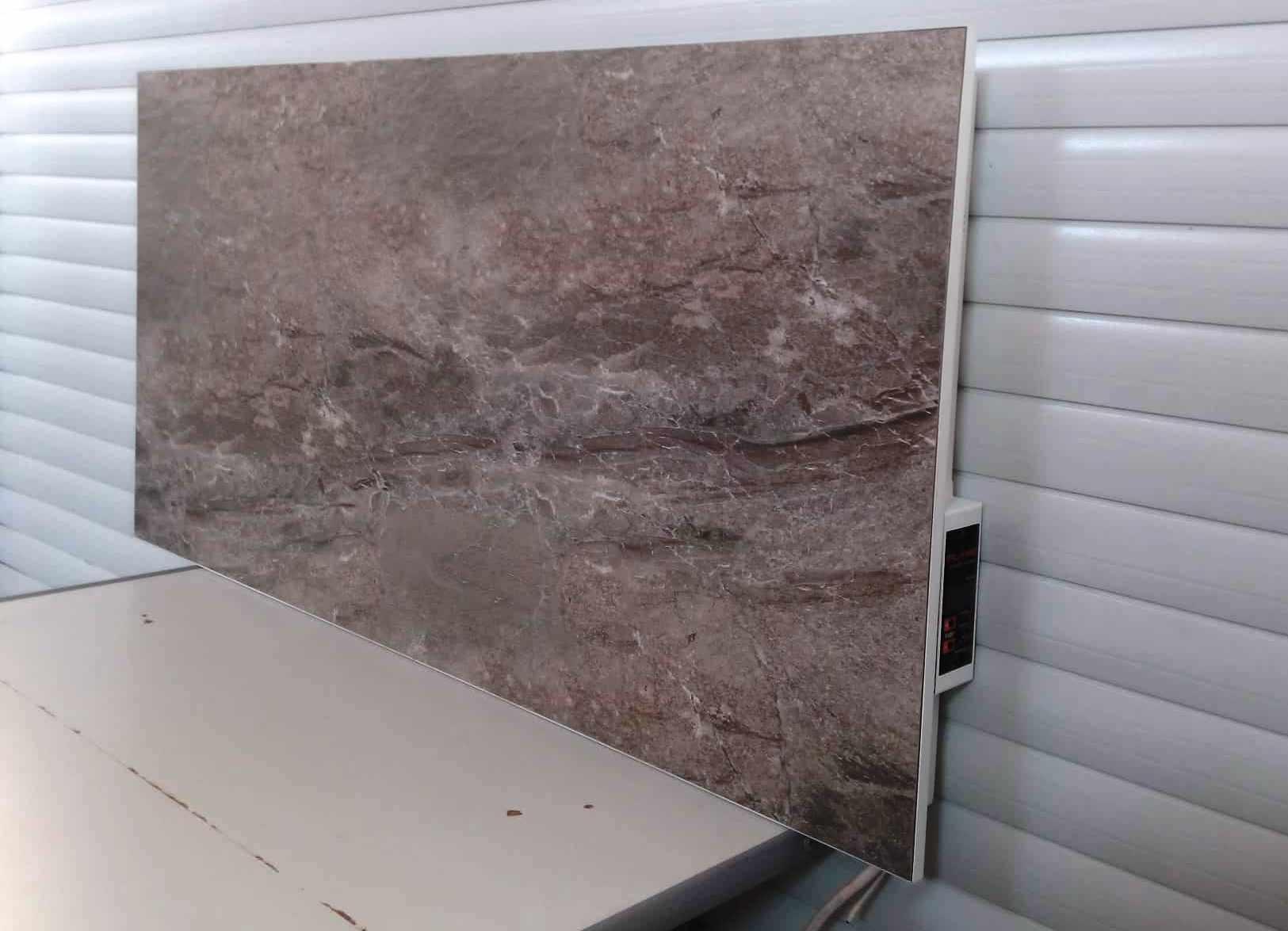 Керамическая панель серого цвета Flyme 600 ватт  купить в Киеве