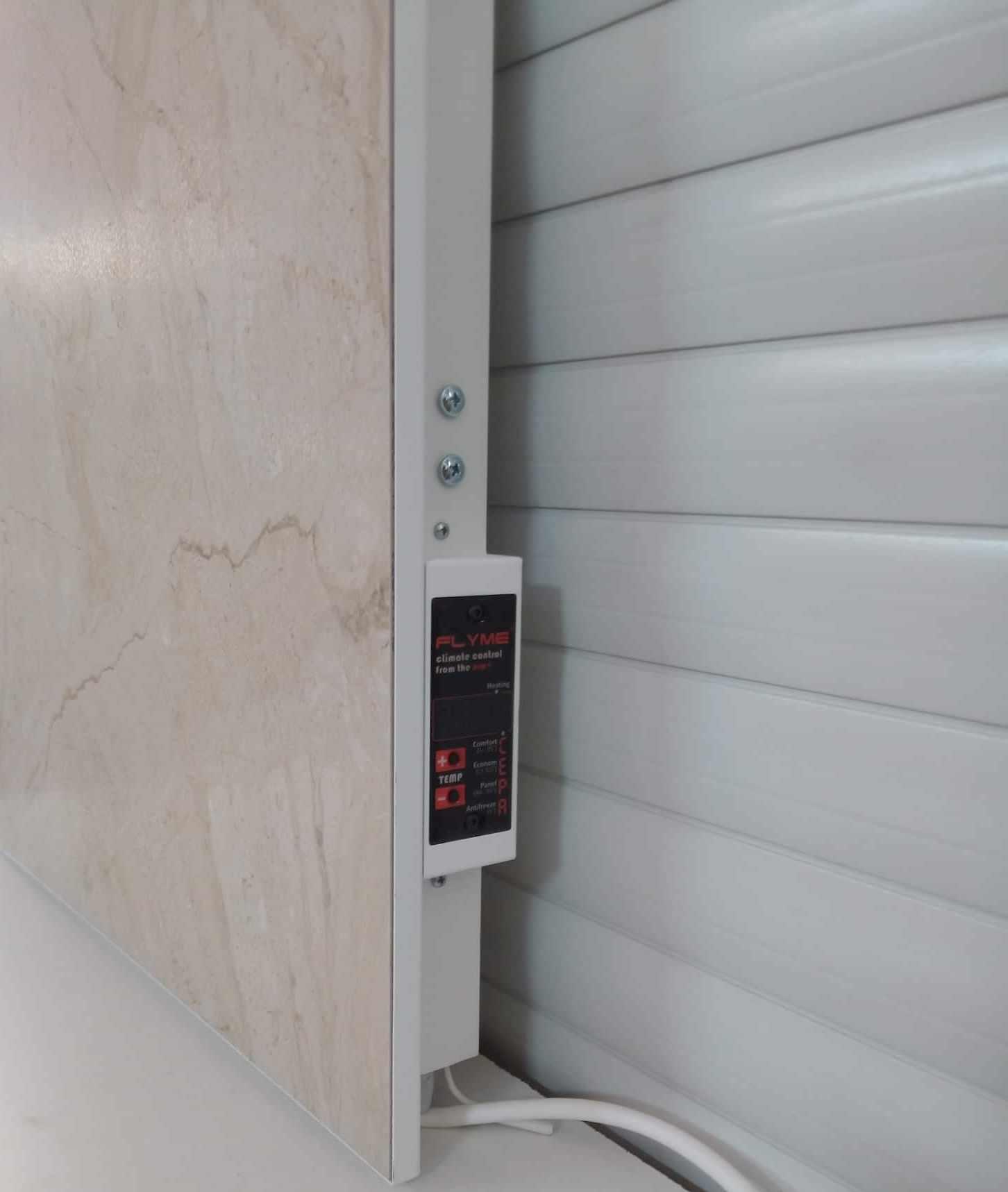 Цифровой терморегулятор керамической панели Флайм можно купить в Киеве