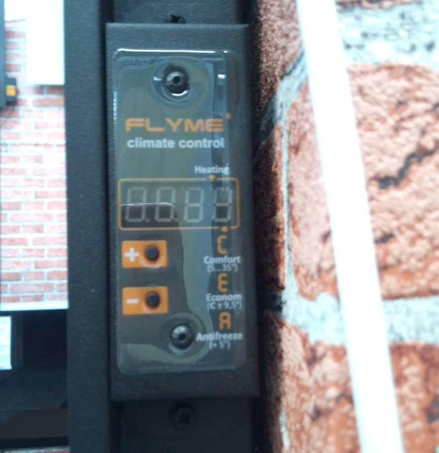 Электронный блок регулирования температуры в комнате на керамической панели в Киеве