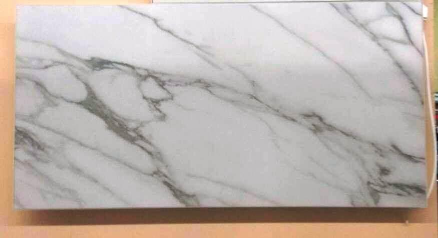 Керамический инфракрасный обогреватель белого цвета под камень