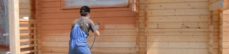 чем и какой краской лучше покрасить деревянный дом снаружи