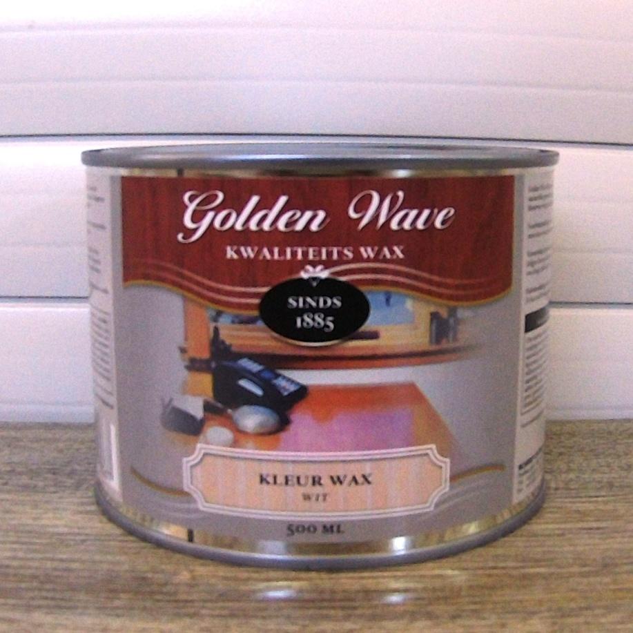 Воск для дерева белый можно купить в Киеве от бренда Golden Wave